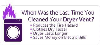 Dryer Vents Cleaning